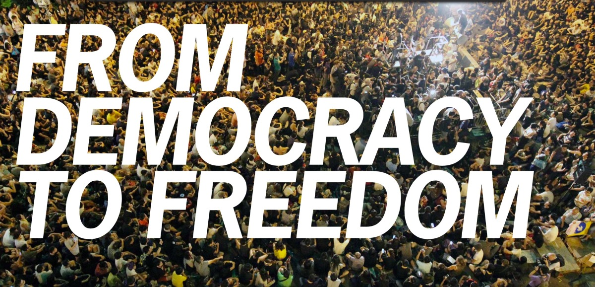 Image result for FROM DEMOCRACY TO FREEDOM