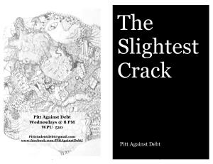 the-slightest-crack-print